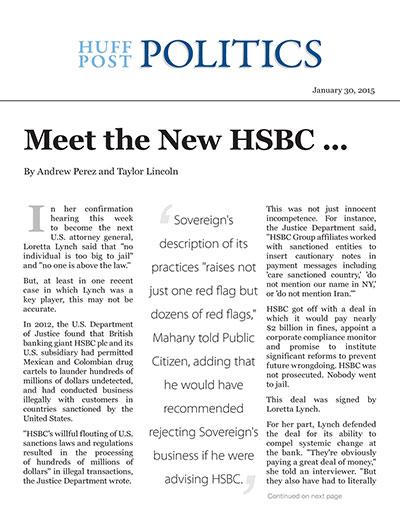 Meet the New HSBC ...