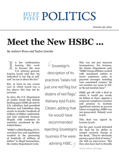 Meet the New HSBC ...