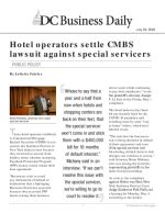Hotel operators settle CMBS lawsuit against special servicers