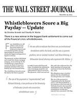 Whistleblowers Score a Big Payday -- Update