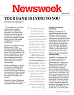Your Bank Is Lying to You