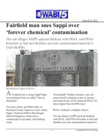 Fairfield man sues Sappi over 'forever chemical' contamination